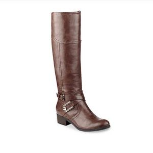 Unisa Brown Wide Calf Trinee Riding Boot